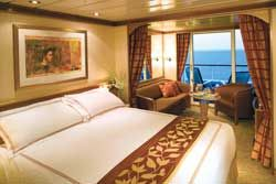 Mariner - Ship interior, Deluxe suite stateroom