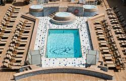 Mariner - Pool deck, swim, ship exterior